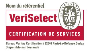 Certification Veritas de nos formations